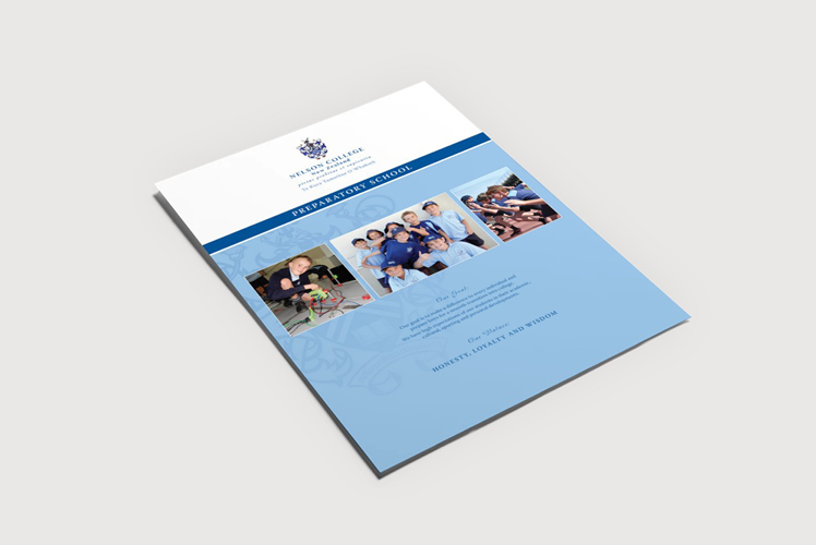 wellington brochure design